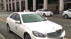 white-taxi
